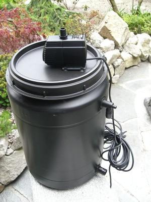 Teichfilter für Teiche bis 7500 Liter Komplettset