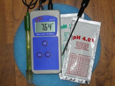 PH-Redox-Temperatur Messgerät