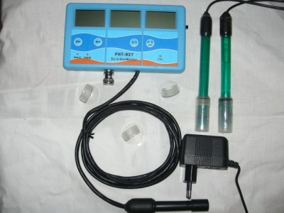 PH Leitwert Redox Temperatur Messgerät