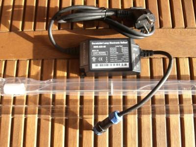 30 Watt Rota Montageset UVC Tauch Strahler incl. Vorschaltgerät Lampe Quarz