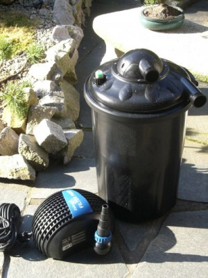 Druckfilter Koi-kichi 13000 m. Pumpe und UVC Set