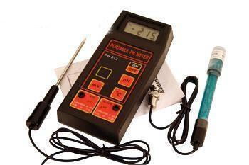 PH-, Temperatur- und Redox-Meßgerät