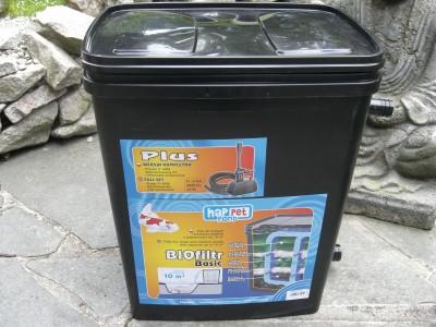 Gartenteichfilter Teichfilter für Teiche bis 2500 Liter ohne Pumpe