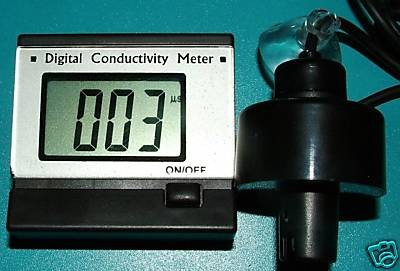 EC/Leitwert Messgerät mit Sonde