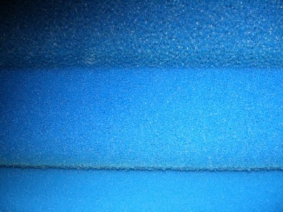 3x Filtermatte Filterschaum 100x50x10cm 10 20 30 PPI