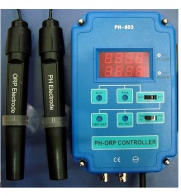 PH ORP Controller CO2 PH Messgerät Regler Neu OVP