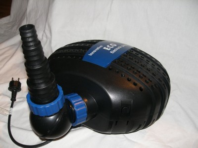 Jebao / Happet SUPERECO Elektronik Teichpumpe mit Brushlessmotor 6500 l/h
