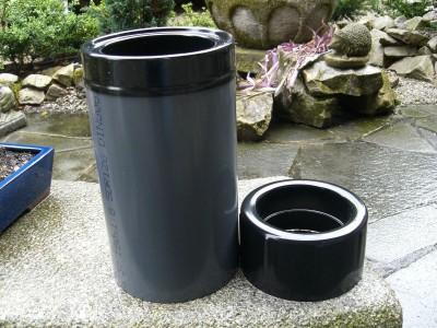 Rohrskimmer, Koi Teich Filter Skimmer Schwerkraft 110/160mm