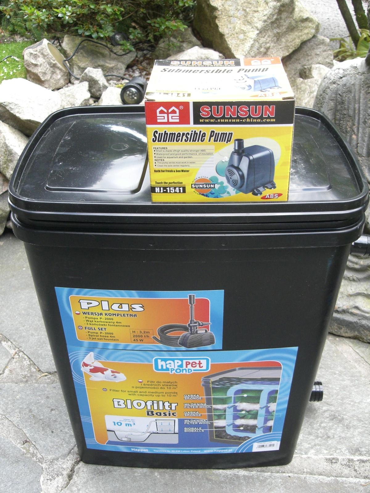 teichfilter mit pumpe aquaristikshop koi kichi pumpen filter und mehr. Black Bedroom Furniture Sets. Home Design Ideas