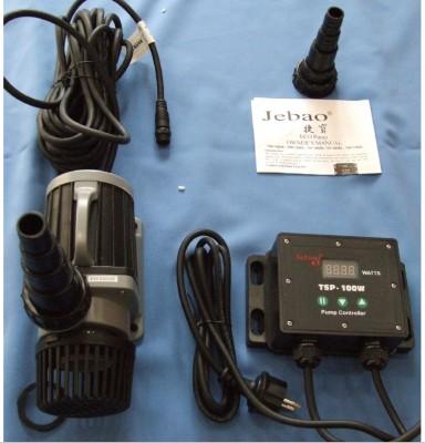 Jebao TSP-10000 elektronsich stufenlos regelbare Pumpe f. Süß- und Seewasser
