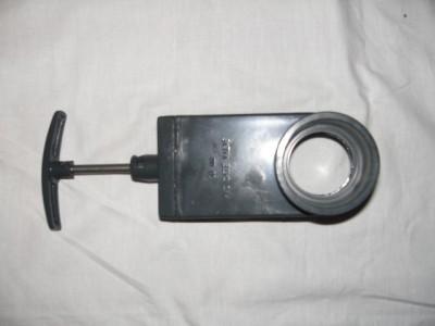 Zugschieber 63 mm 2x Klebemuffe