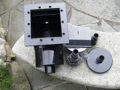 Wandskimmer Einbauskimmer, Koi Teich Filter Skimmer Schwerkraft